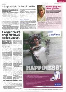 Vet Times article