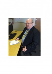 Greg Warman - Chief Operating Officer and Chairman signing VetSkill's first certificates